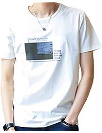 JHIJSC Tシャツ メンズ 半袖 無地 綿 ゆったり 薄手 おしゃれ おおきいサイズ