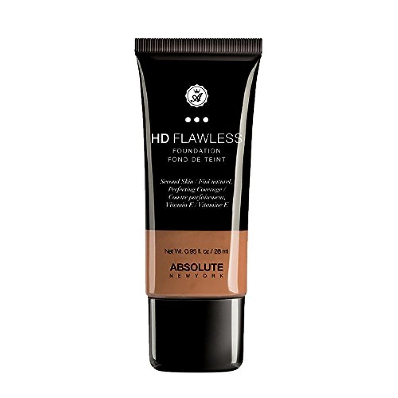 (3 Pack) ABSOLUTE HD Flawless Fluid Foundation - Coffee (並行輸入品)