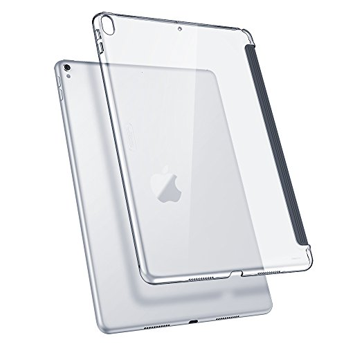ESR iPad Pro 10.5ケース クリア バックカバー 軽量 スマートキーボード対応 スリム ハード PC キズ防止 指...