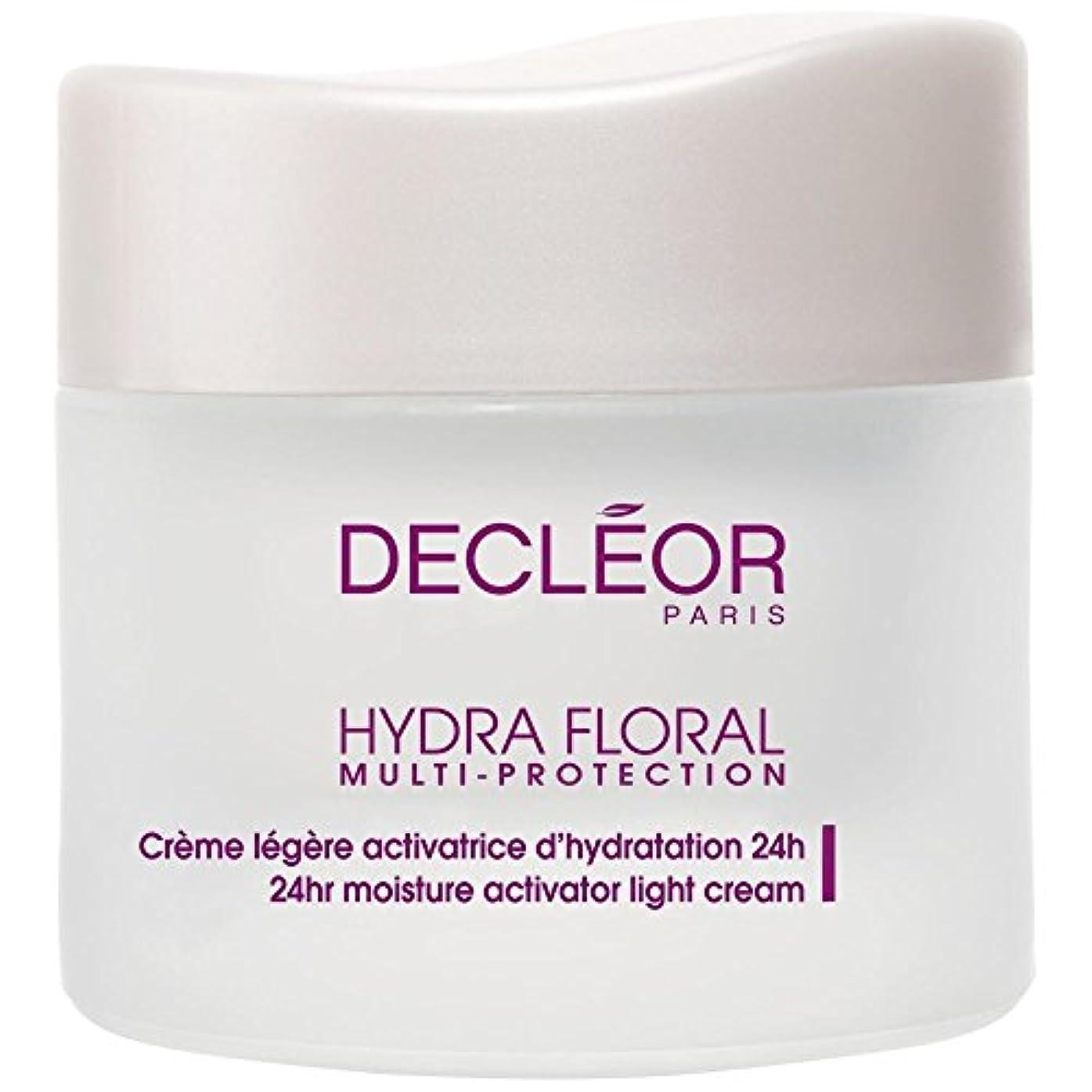 毛布驚いたことに子供っぽい[Decl?or] デクレオールヒドラ花のマルチプロテクションベーターライトクリーム、50ミリリットル - Decl?or Hydra Floral Multi Protection Activator Light Cream...