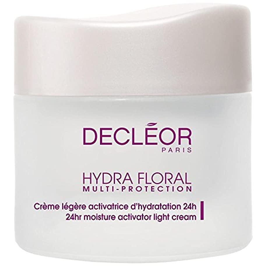 くま離婚減る[Decl?or] デクレオールヒドラ花のマルチプロテクションベーターライトクリーム、50ミリリットル - Decl?or Hydra Floral Multi Protection Activator Light Cream...