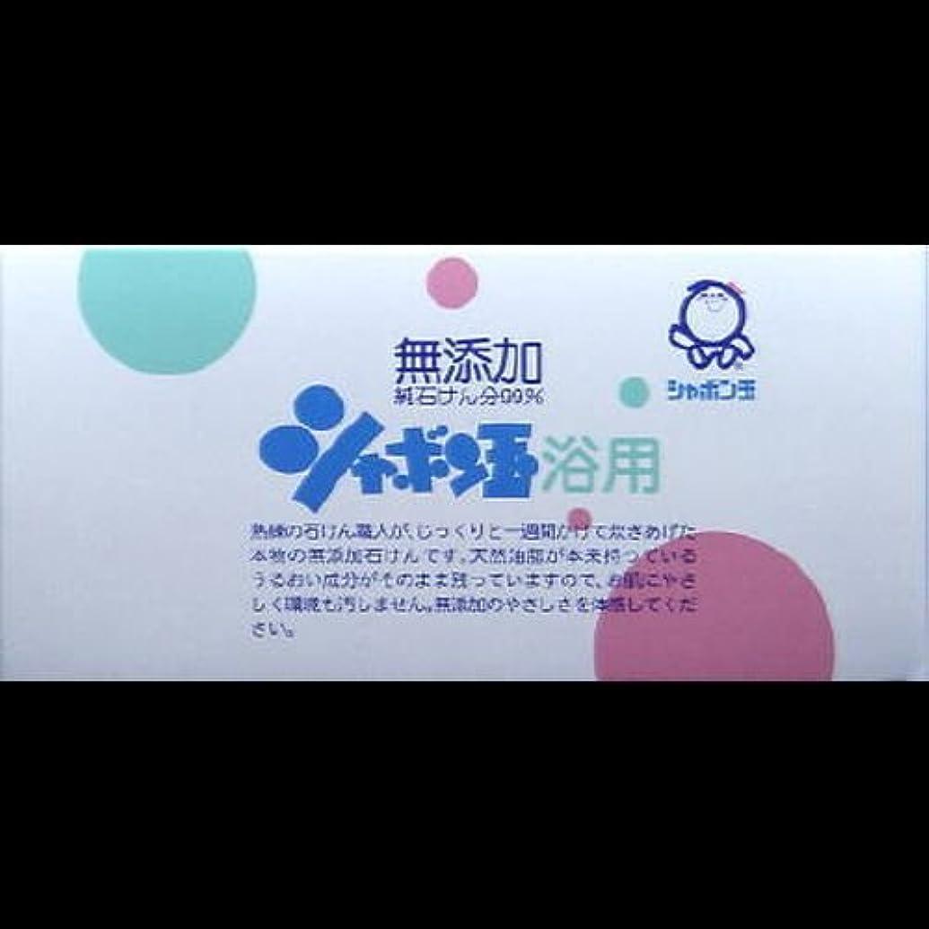 毎回形フェンス【まとめ買い】シャボン玉 浴用 100g*3個 ×2セット