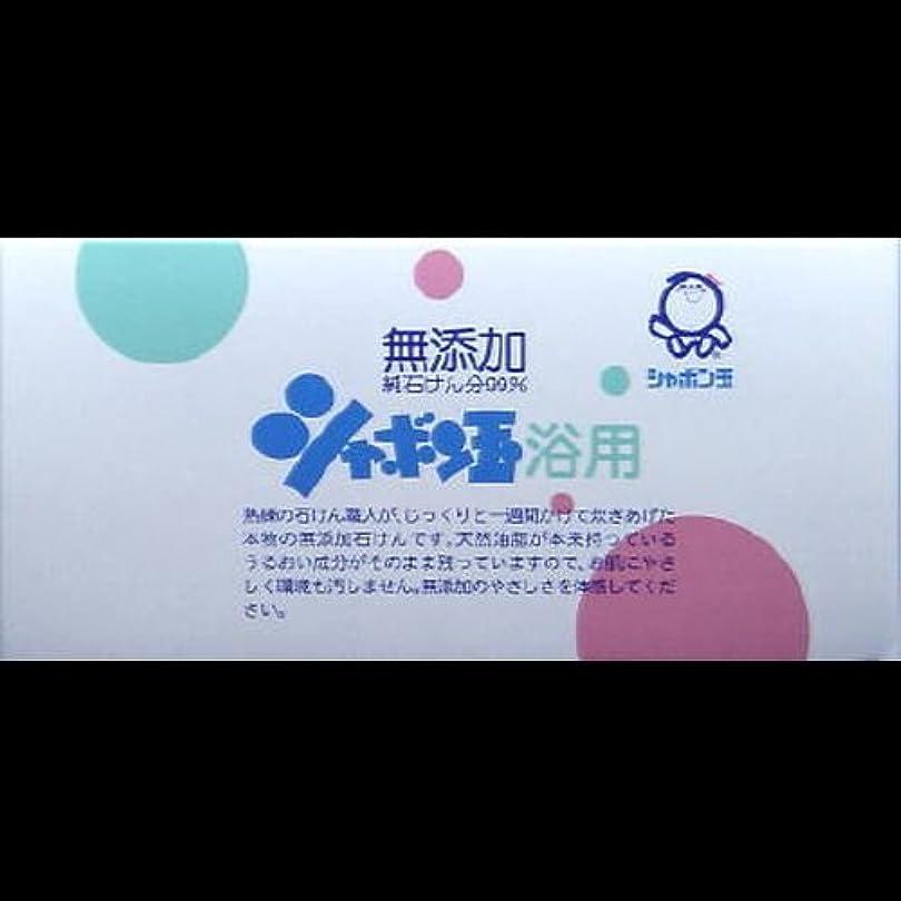 深くボイコット困難【まとめ買い】シャボン玉 浴用 100g*3個 ×2セット