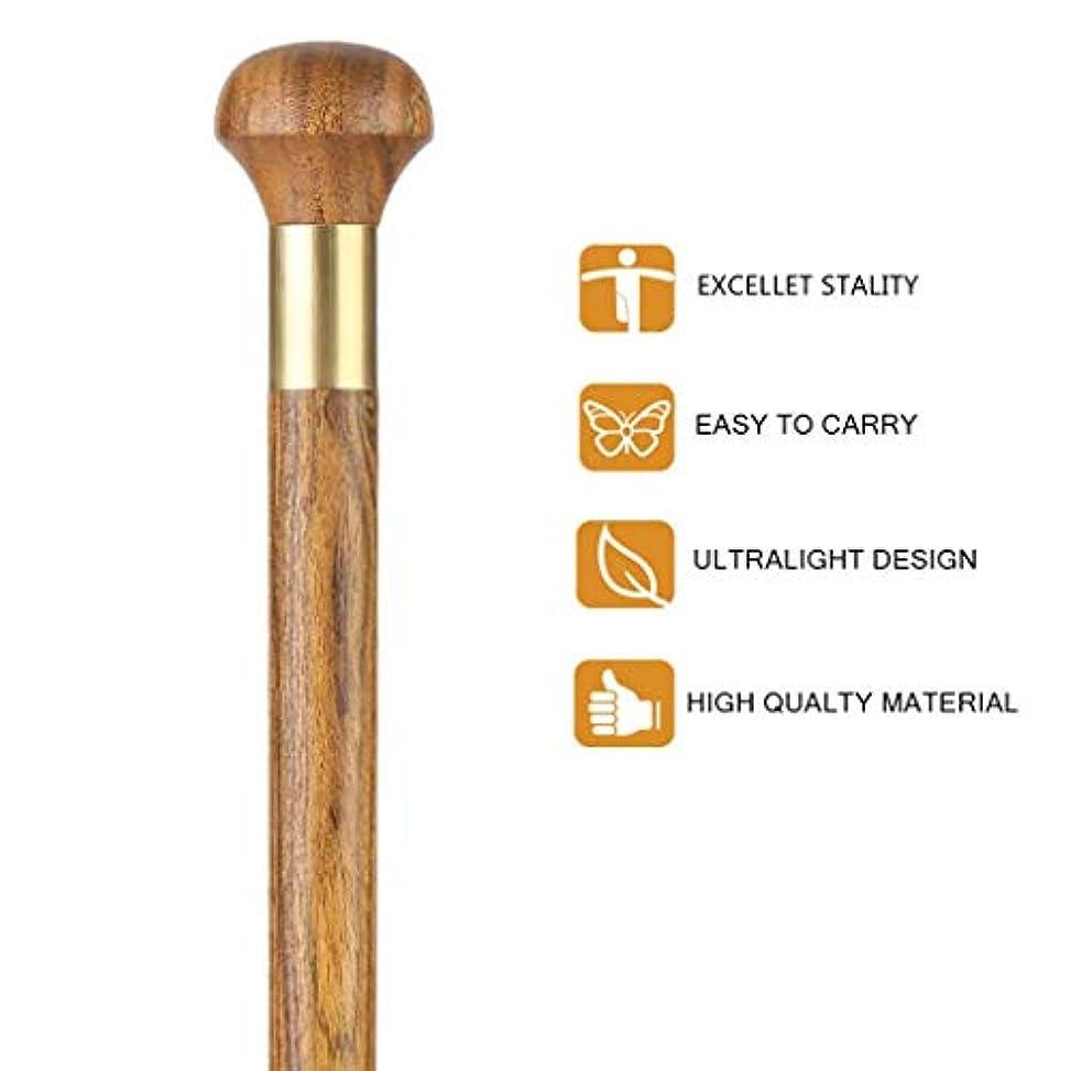 失業者戦いスコア女性のためのBAORI固体丸いハンドル木製の棒、軽い天然木と強いスティック両手利き足、250ポンドの重量容量、Cane_34inch,値,34inch