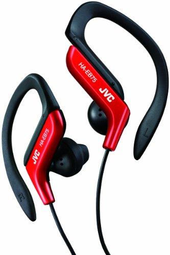 JVC HA-EB75-R イヤホン 耳掛け式 防滴仕様 スポーツ用 レッド