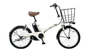 Panasonic(パナソニック) 2018年モデル グリッター 20インチ カラー:ココモミルク ELGL033-F 電動アシスト自転車 専用充電器付