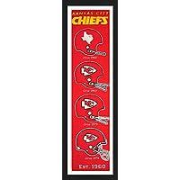 NFL Framed遺産バナー13 x 36インチ