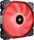 Corsair Air Series AF140 LED (2018) Red -Single pack- PCケースファン 14cm FN1270 CO-9050086-WW