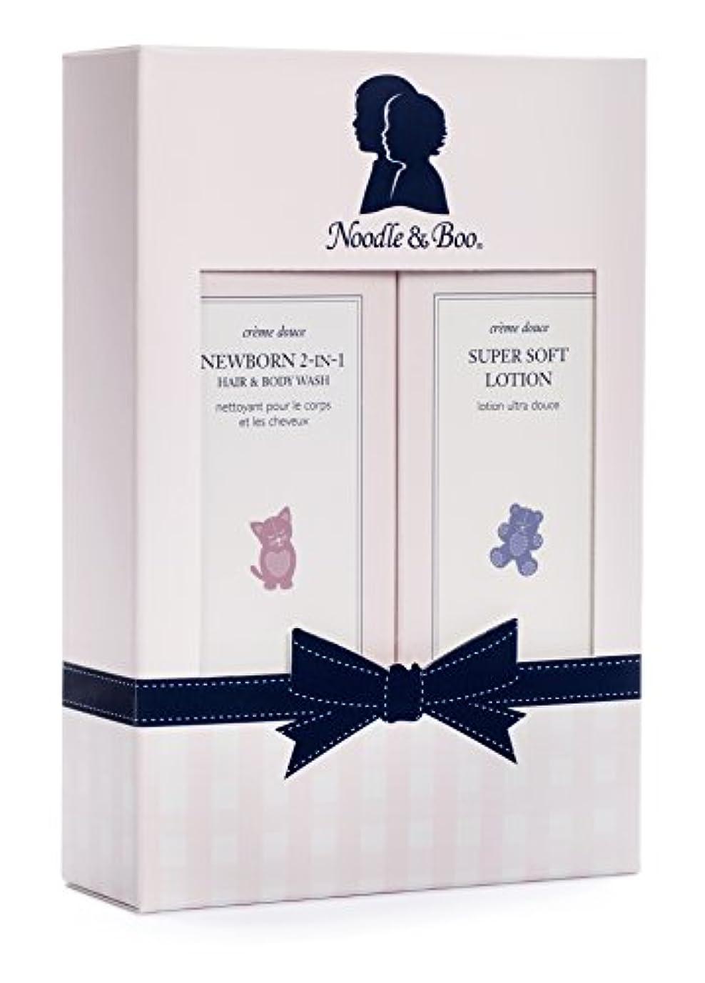 燃料ナイロン溶けるヌードル&ブー Newborn Gift Set: Newborn 2-in-1 Hair & Body Wash 237ml/8oz + Super Soft Lotion - For Face & Body 237ml...