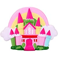 KawaiiジャンボFairytale Castle香りつきSquishyチャームSlow Rising応力Reliever Toyギフトfor Kids and adults- waymine