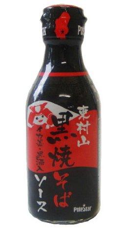 イカスミソースが大好きなので瓶の「東村山 黒焼きそばソース」を買ってみましたよ!