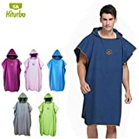 EDTara Beach Cloak Quick Drying Bathing Robe Waterproof Beach Diving Clothes Cloak Ultra-Thin Swimwear Cover