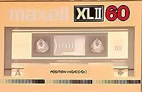 maxell オーディオ カセットテープ XLII 60分 サイレントPAカセットメカニズム XLII60