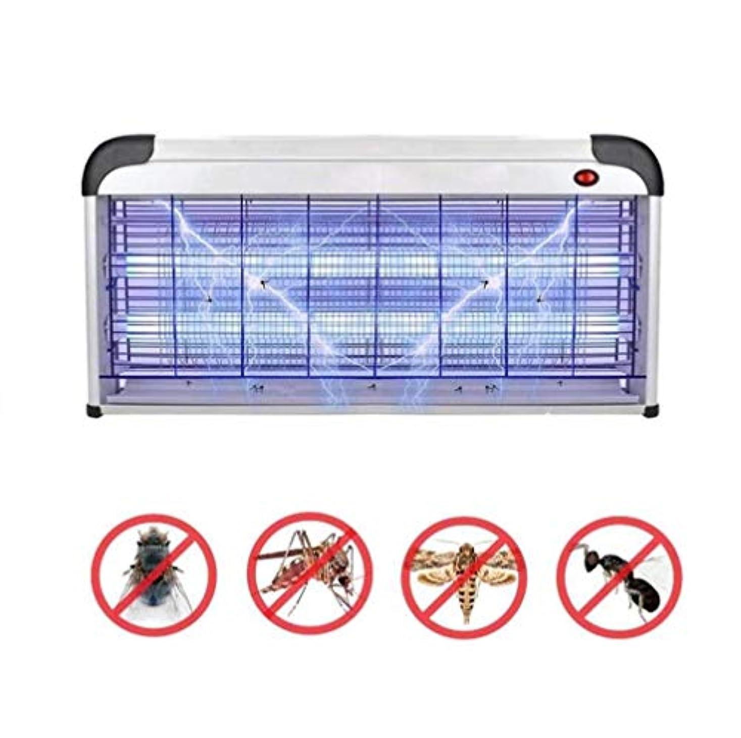 モトリー保安染色ハエキラーアップグレード40ワット電子バグザッパー蚊、ハエ、蛾、ハチ、カブトムシその他の害虫キラー屋内 (色 : 30W)