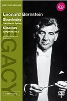 レナード・バーンスタイン - ストラヴィンスキー:バレエ音楽「春の祭典」/シベリウス:交響曲 第5番 変ホ長調 [DVD]
