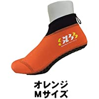 スタンダードモデル!! SANDBLOCK サンドソックス ■オレンジ■ ■Mサイズ■