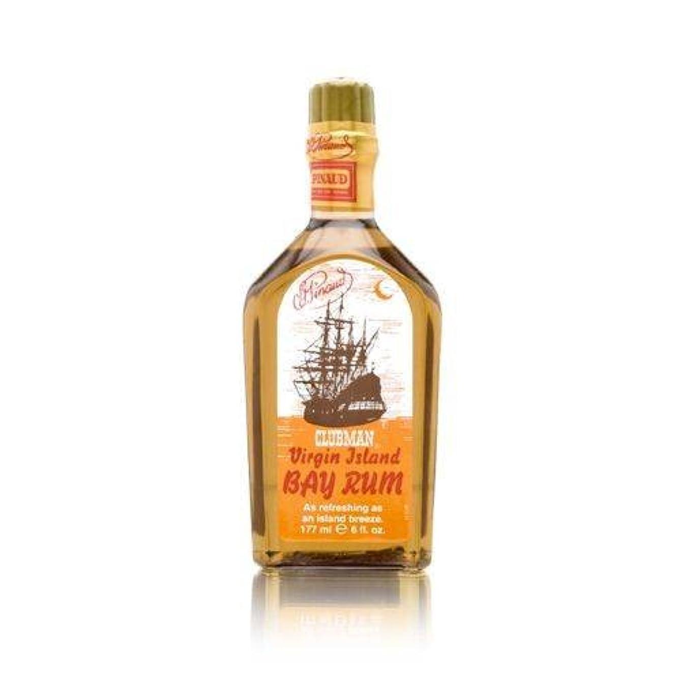 原理セマフォジャグリングCLUBMAN Virgin Island Bay Rum, 6 oz (並行輸入品)