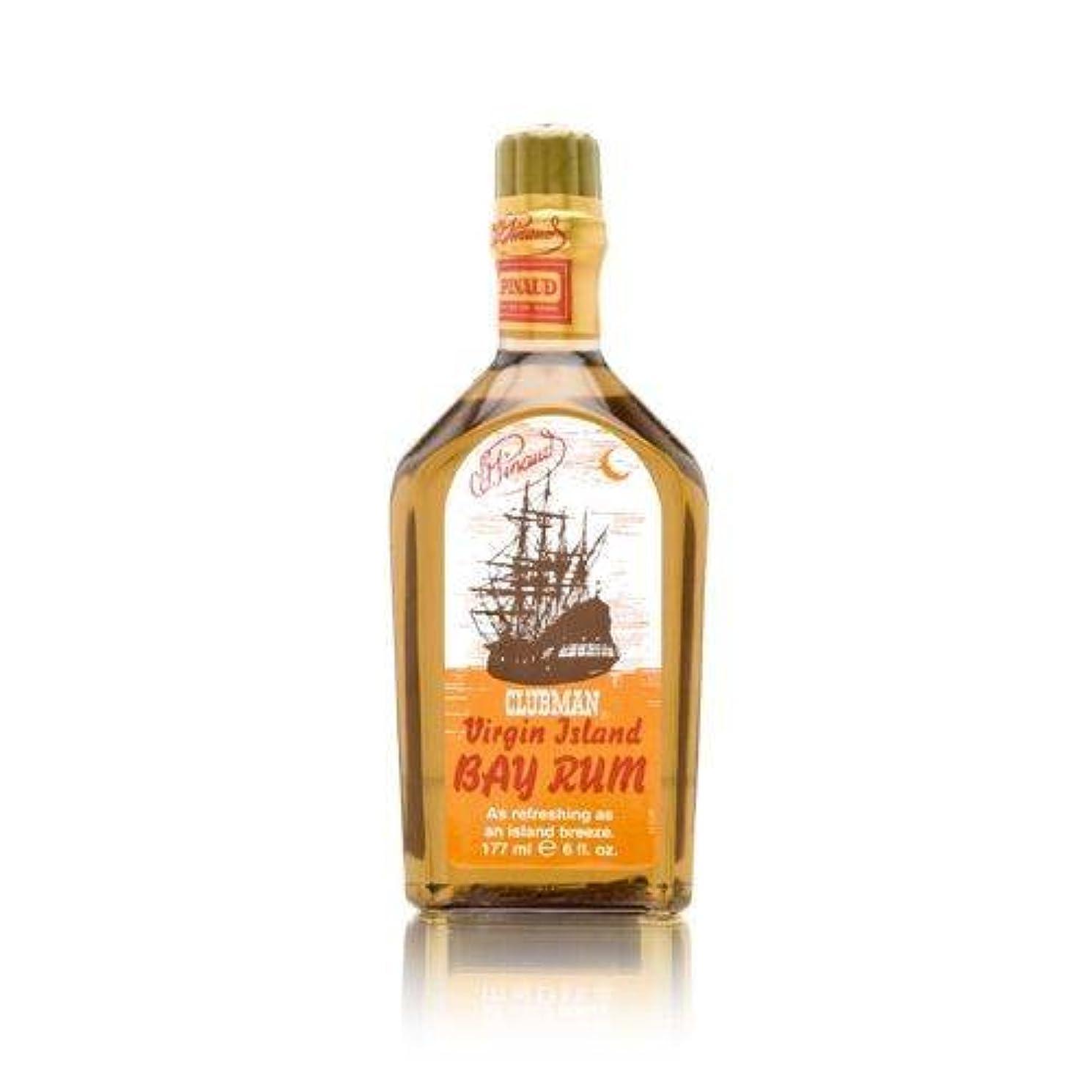 蒸発オッズ反論者CLUBMAN Virgin Island Bay Rum, 6 oz (並行輸入品)