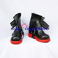 【サイズ選択可】コスプレ靴 ブーツ K-117 鋼の錬金術師 エドワード 男性28CM