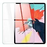 【Face ID 対応/Apple Pencil(第2世代) / 2018新型 新しい iPad Pro 12.9 インチ用】日本メーカー ガラスフィルム 全面保護 最高硬度 9H ケース干渉防止 強化ガラス 液晶保護フィルム 高透過率 気泡ゼロ 硬度9H あいぱっど iPad Pro 12.9 2018 clear 271