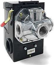 【Mirai.2022】壓力開關 空氣壓縮機 4口型 側開關型 預備開關 12A 修復 修理 更換 部件
