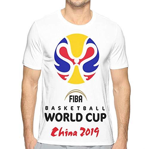F-I-B-A Basketball 2019 ChinaSUPATOMO Tシャツ メンズ 半袖 カットソー 無地 デザイン 薄手 おしゃれ 柔らかい ファッションおしゃれ 快適な 春夏着服