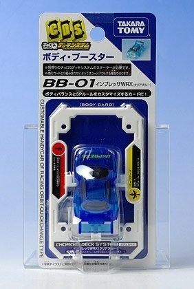 チョロQデッキシステム BB-01 インプレッサWRX クリアブルー