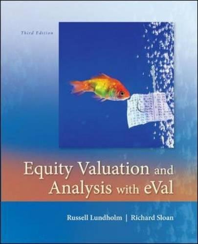 Download Equity Valuation and Analysis w/eVal 0073526894