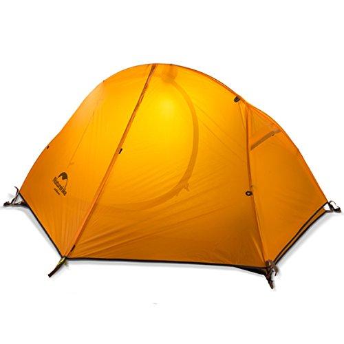 Naturehike公式ショップ テント 1人用 アウトドア 自立式 二重層...