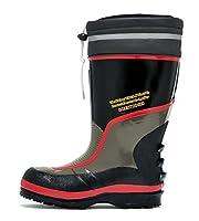 (ジーベック) XEBEC 二重構造で保温性抜群 セフティ防寒長靴 安全靴 (先芯あり) (85705-xe) レッド LL