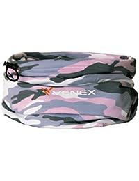 VENEX ( ベネクス ) リカバリーウェア 2WAYコンフォートライト 迷彩柄 首巻き UVカット グレーカモ ピンクカモ サイズフリー