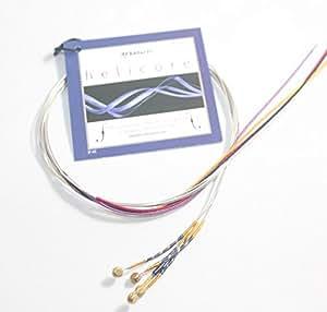 ビオラ弦 ヘリコア helicore 4弦セット(A D G C) 格安、簡易包装パック