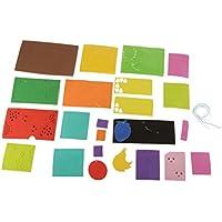 IPOTCH モバイル風鈴 果物 かわいい ハンドクラフト 子供 DIY クラフトの装飾用 着色風鈴