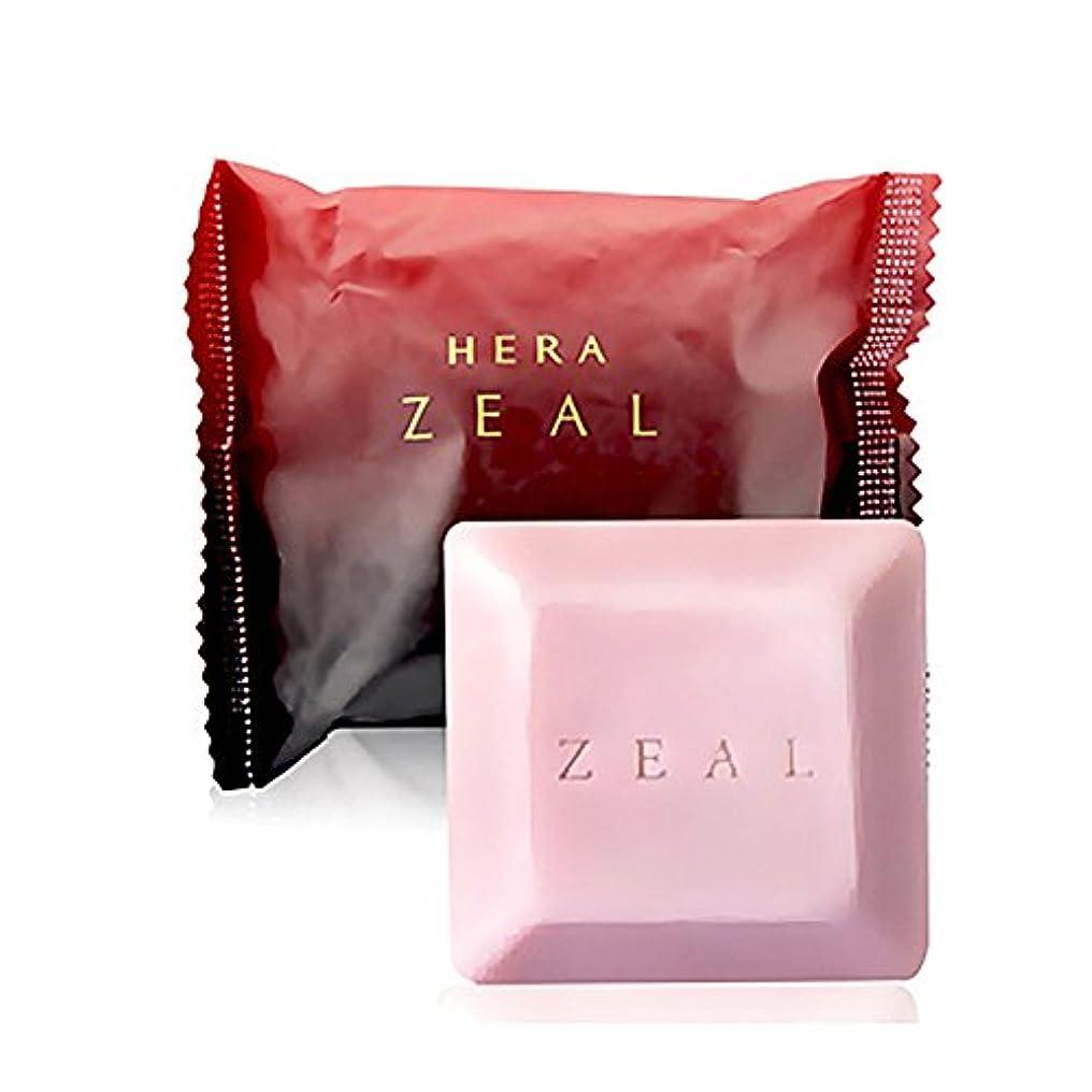 ラケットながらさらにHERA ZEAL 美容石鹸 60gソープ/Hera Zeal Organic Perfumed Soap