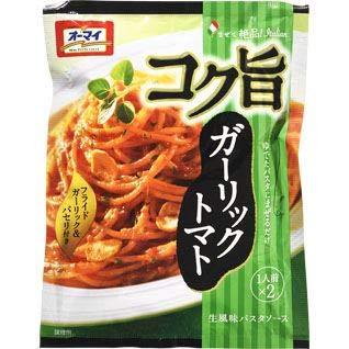 日本製粉 オーマイ コク旨 ガーリックトマト 41.6g 2人前