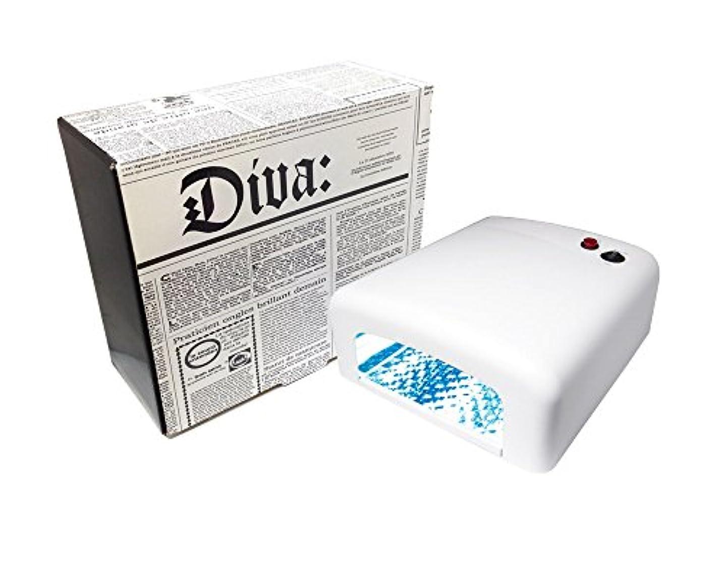 名義でまさに手のひらDiva(ディーヴァ) UVライト36W(UVランプ) 本体 ホワイト