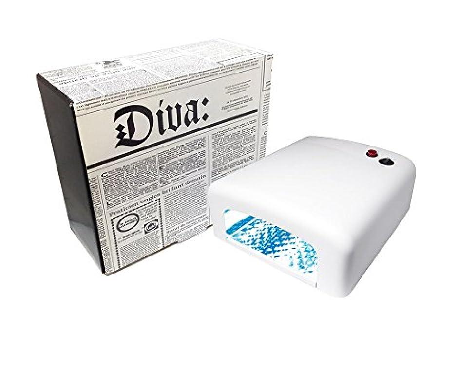 曲がったメンタリティ伝説Diva(ディーヴァ) UVライト36W(UVランプ) 本体 ホワイト