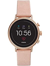 [フォッシル]FOSSIL 腕時計 Q VENTURE タッチスクリーンスマートウォッチ ジェネレーション4 FTW6015 レディース 【正規輸入品】