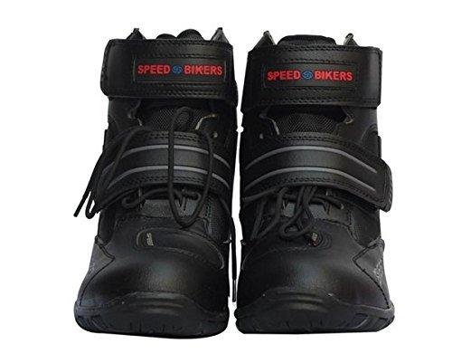 ショートブーツ メンズ オートバイ靴 バイク靴 分厚いプロテ...