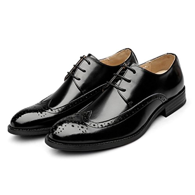 逃げる高めるプレーヤービジネスシューズ メンズ 外羽根プレーントゥ 2カラー カジュアル コンフォートシューズ ブーツ 紳士靴 黒 コーヒー 24.0cm 24.5cm 25.0cm 25.5cm 26.0cm 26.5cm 27.0cm「イノヤ」