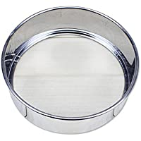小麦粉ふるい テンレス鋼 ベーキングツール メッシュ ふるい分け ふるい 使いやすい 耐久性