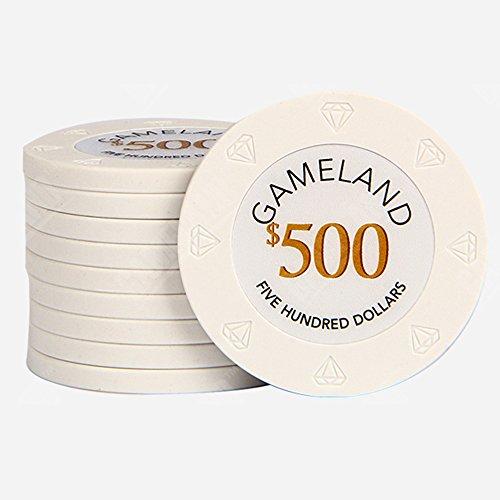 カジノ ポーカーチップ 14g  ラウンド用品 10枚セット (・・・
