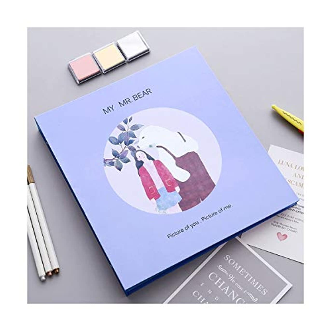 喜劇フルーツ宣教師SLY フォトアルバム、Diyハンドメイドクリエイティブフィルムアルバム、Paste Homemade Album (Color : A)
