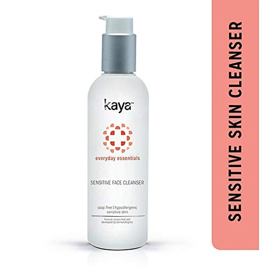 打撃前書き利益Kaya Clinic Face Cleanser for Sensitive Skin, 200ml