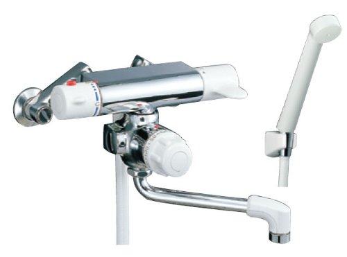 INAX 浴槽・洗い場兼用・壁付型 定量止水付サーモスタット付シャワーバス水栓 BF-M140TSD