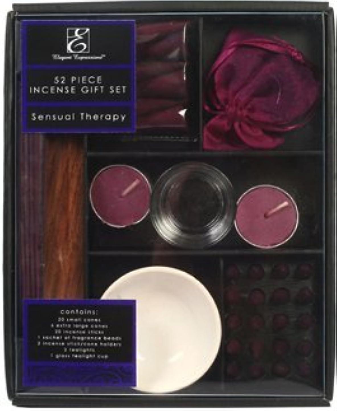 確かなホールドオール簡単なアロマセラピーHosley ®プレミアム52ピースパックHighly香りつき官能的療法お香ギフトセット。手Fragranced、Infused with Essential Oils。理想的なギフトや結婚式、特別なイベント...