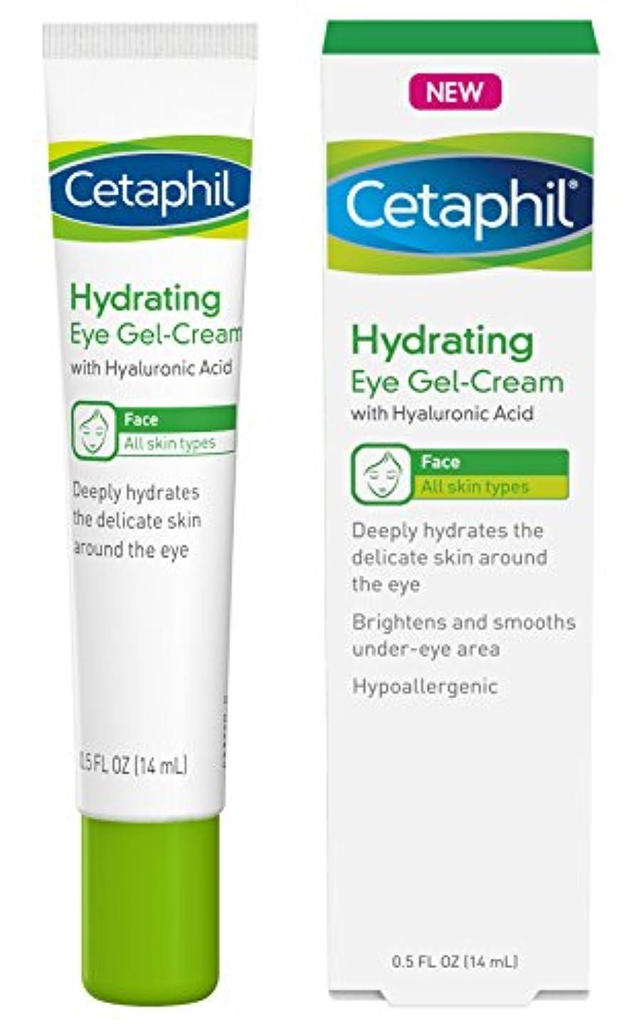 いらいらするそれに応じて人Cetaphil ヒアルロン酸とアイジェルクリームを水和 - 設計さに深く水和物、ブライトン&アンダーアイエリアスムーズ - オールスキンタイプ - 低刺激性&敏感肌に適し - 0.5フロリダ。オズ