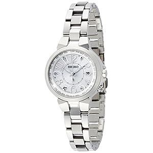 [ルキア]LUKIA 腕時計 ソーラー電波 チタンモデル サファイアガラス スーパークリアコーティング 10気圧防水 SSQV001 レディース