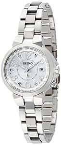 [セイコー ウオッチ]SEIKO WATCH 腕時計 LUKIA ルキア ラッキーパスポート ソーラー電波修正 サファイアガラス  スーパークリア コーティング 日常生活用強化防水(10気圧) SSQV001 レディース