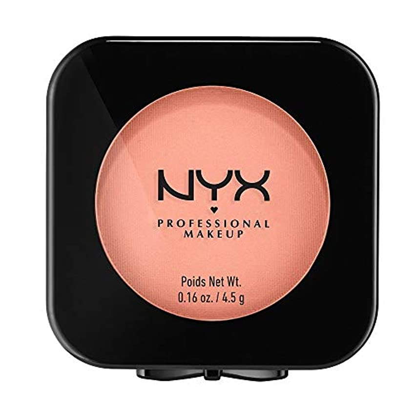 ブラインド複雑な納税者NYX(ニックス) ハイデフィニション ブラッシュ 12 カラーソフト スポーケン